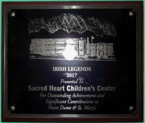 Irish Legends Plaque